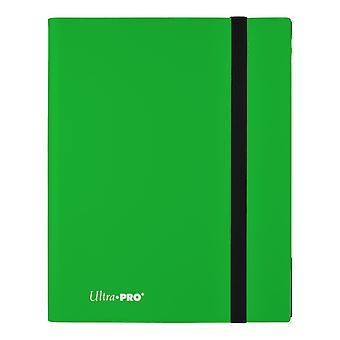 9-Pocket Eclipse Lime Green Pro-Binder