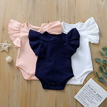Body Suit Baby Cotton, Short Sleeve Bodysuit Clothes