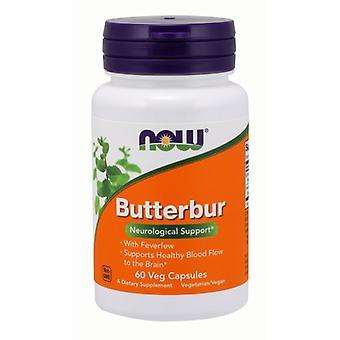 Now Foods Butterbur, 75 mg, 60 Veg Caps