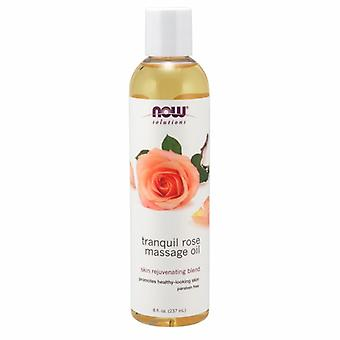 Now Foods Tranquil Rose Massage Oil, 8 Oz