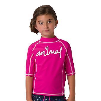 Animal Molli T-Shirt - Rasberry Rose Pink