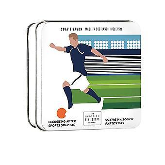 Scottish Fine Soaps Sports Soap Bar Football 100g