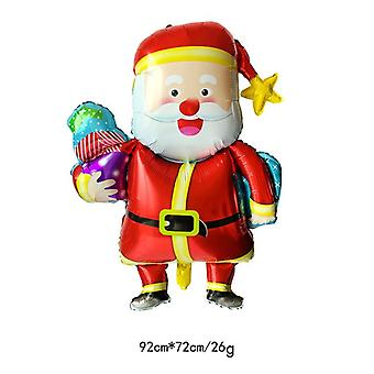 Santa Claus Christmas-balloon, Balloon For Party Decoration, Kids Ball Supplies