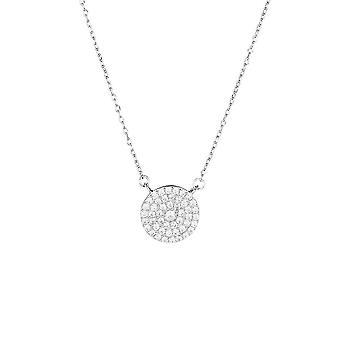 Silber Halskette und Zirkoniumoxide Sonne meines Herzens