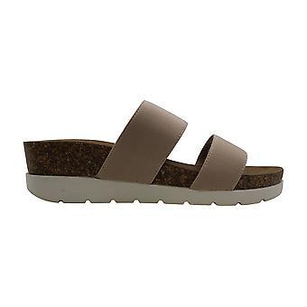 Madden Girl Womens Nikkii Fabric Open Toe Walking Slide Sandals