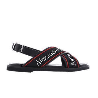 אלכסנדר מקווין סנדל חלון ראווה שחור 604275whrwc1081 נעל