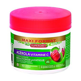 Maxi Pot Acerola Vitamin C 90 tablets