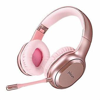 Picun P80S bluetooth 4.1 Gaming Headset LED Lighting Noise Cancelling Wireless