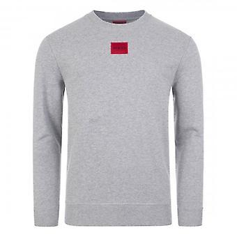 HUGO Hugo Boss Diragol Crew Neck Sweatshirt Grey 50435500