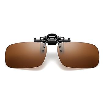 Clip On Style Polarized Sunglasses For Fishing, Riding& Hiking, Day/night