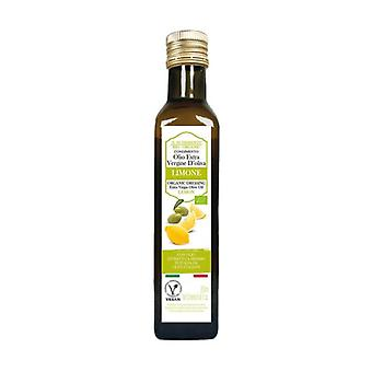 Dressing with extra virgin olive oil - lemon flavor None