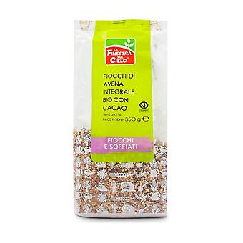 Organic Whole Grain Oat Flakes With Cocoa 350 g