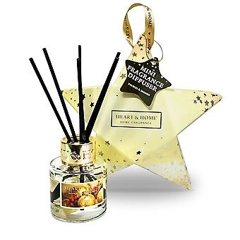 Heart & Home Mini Diffuser Star Gift Set - Baubles & Berries