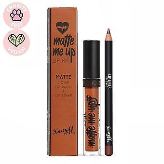 Barry M 3 X Barry M Matte Liquid Lip Kit - So Chic