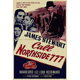 Call Northside 777 Movie Poster stampa (27 x 40)