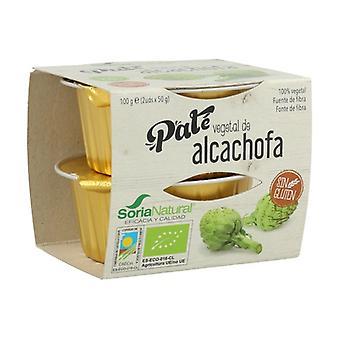 Paté de Alcachofa 2 unidades