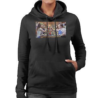 Brudtärnor Brudar Brudar Bröllopsfest Kvinnor's Hooded Sweatshirt