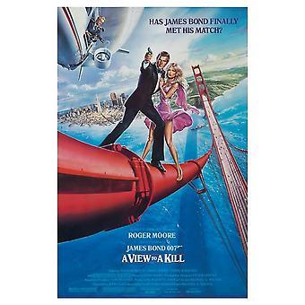 James Bond A View To A Kill Postcard