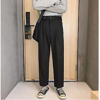 Men's Western-style Male Trousers Suit Casual Formal Fashion Blazers Pants
