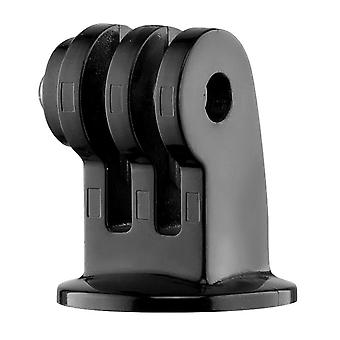 Manfrotto exadpt, universal tripod mount with adapter for gopro, compatible with all gopro models, u