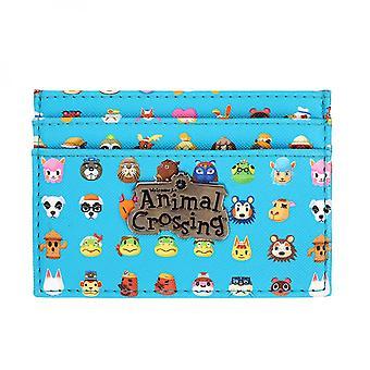 Animal Crossing AOP Card Wallet