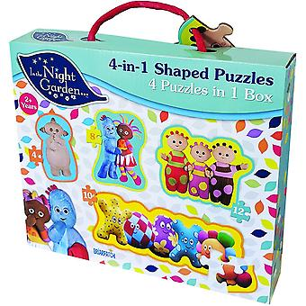 University Games In The Night Garden 4in1 Puzzle