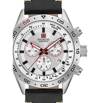 Mens Watch Swiss Military Hanowa 06-4318.04.001, Quartz, 42mm, 10ATM