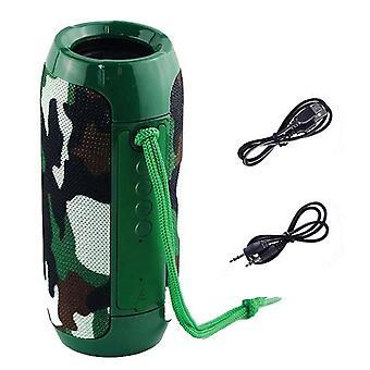 Hordozható hangszóró, 10w vezeték nélküli, Bluetooth mélysugárzó oszlop