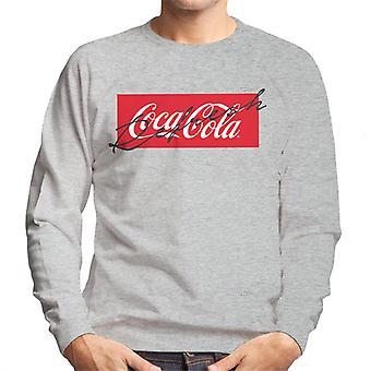 Coca Cola Refresh Signature Aesthetic Men's Sweatshirt