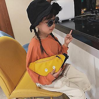 Kids Waist Pack Cute Eyes Chest Bag, / Adjustable Fanny Belt Bags