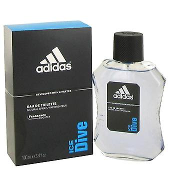 Adidas Ice Dive Eau De Toilette Spray af Adidas 3,4 oz Eau De Toilette Spray