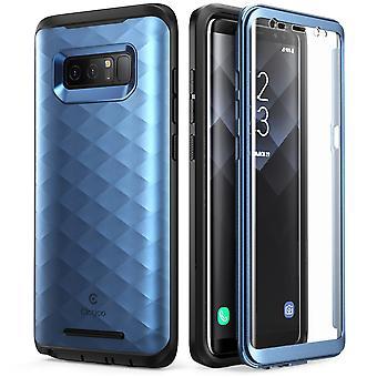Galaxy Note 8 Case, Clayco Hera Series Full-body Rugged Case-Blue
