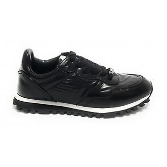 Scarpe Sneaker Running Liu-jo Mod. Wonder In Ecopelle/ Nylon Color Black Woman D20lj08