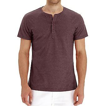 YANGFAN Men's Lyhythihainen Rento Basic Summer Solid T-paita