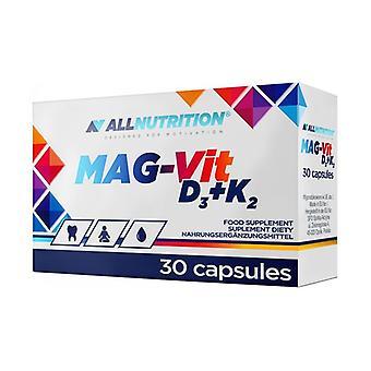 MAG-Vit D3 + K2 30 capsules