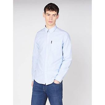 Ben Sherman Signature Oxford Shirt - Sky