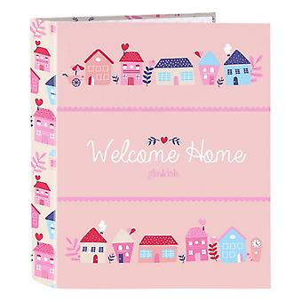 Ring binder Glow Lab Welcome Home A4