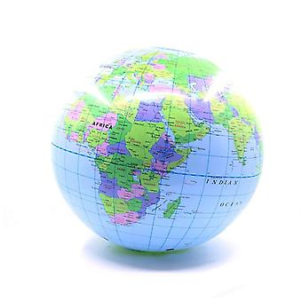 30cm Inflatable Globe World Earth Ocean Map Ball Geography Learning Toy