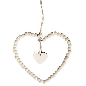 Wire Heart with Wooden Beads | DIY Kit