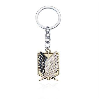 Anime Cosplay Wings Of Liberty Key Chain Rings For Motorcycle Car Keys