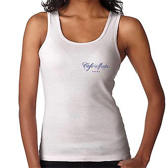 Cafe del Mar Classic Blue Logo Pocket Print Women's Vest