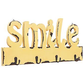 vidaXL جدار خزانة SMILE 50 × 23 سم