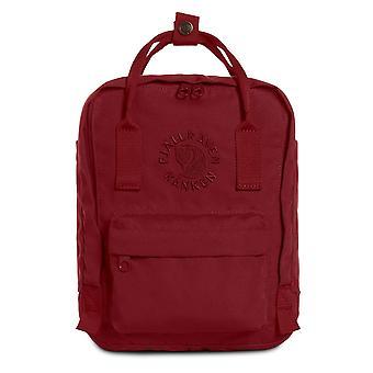 Fjallraven-re-Kanken mini Special Edition återvunnen ryggsäck för Everyday-ox röd