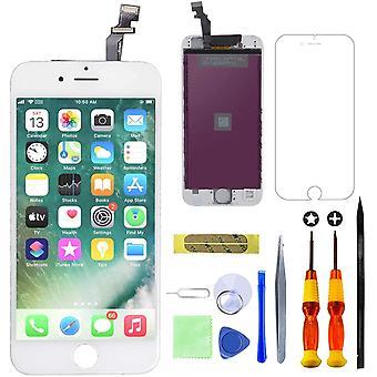 FengChun Kompatibel mit iPhone 6 Display Ersatzset LCD Touchscreen mit Reparaturanleitung und