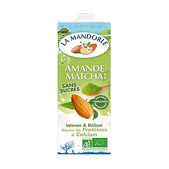 Organic Matcha almond milk 1 L (Almond)