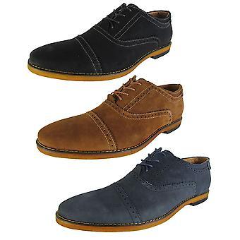 Steve Madden Mens Joistt Lace Up Cap Toe Oxford Shoes