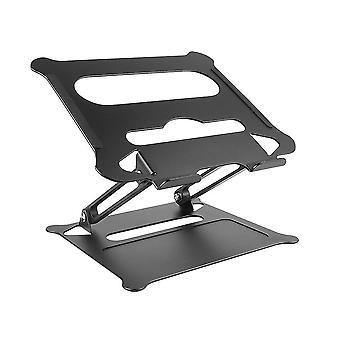 Alumiiniseos säädettävä kannettava st taitettava kannettava macbook tietokonekiinnike nosto jäähdytysteline liukumaton pl-530