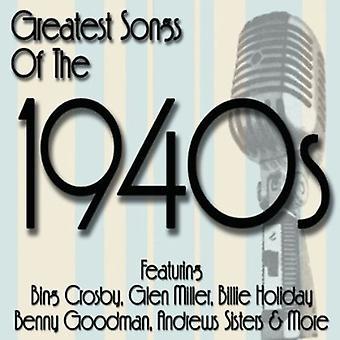 Importer des plus grandes chansons des années 1940 - Greatest Songs des années 1940 [CD] é.-u.