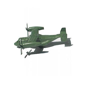 New Osprey Transporter Rotary Propeller World War Military Model Battlefield Figures Playset ES12778