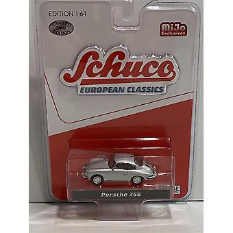 Porsche 356 Silver 1:64 Scale Schuco 4300 European Classics